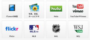 AppleTVコンテンツ